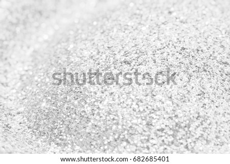 silver and white blur bokeh abstract background