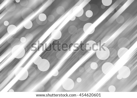 silver and white Sparkling Lights Festive background with texture. Abstract Christmas twinkled bright background with bokeh defocused lights - stock photo