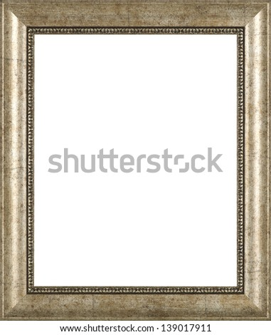 silver art picture frame