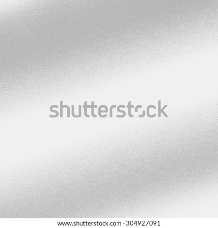 silver background metal texture with oblique line of light to decorative greeting card design - stock photo