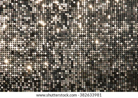 Silver background mosaic with light spots - stock photo
