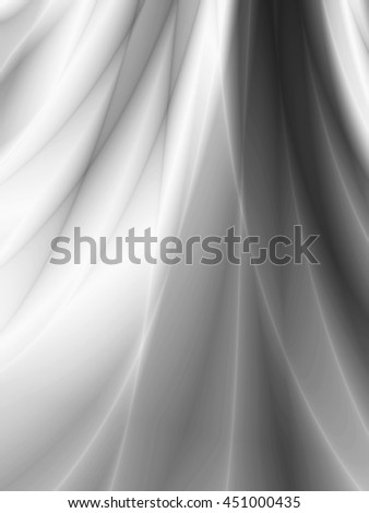Silver beauty curtain abstract wallpaper pattern - stock photo