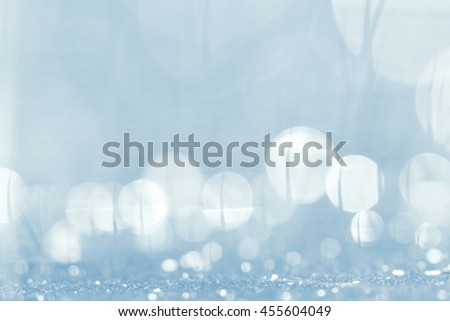 silver blurred background white circles - stock photo