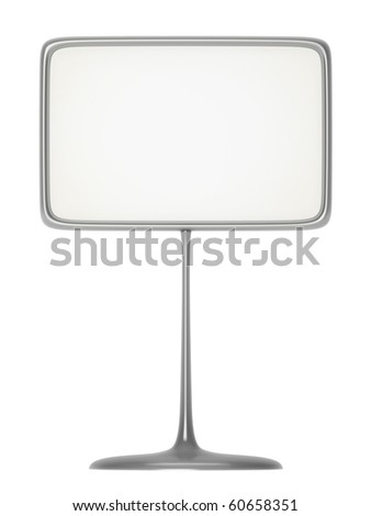 Silver Business Card Holder - stock photo