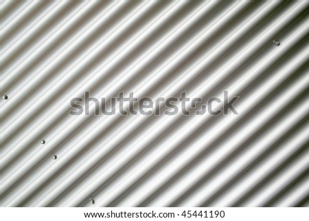 silver-colored corrugated iron hintergund
