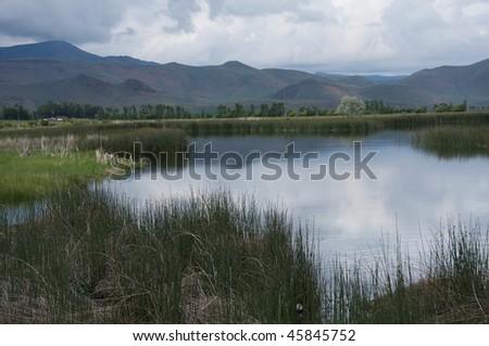 Silver Creek, Idaho - stock photo