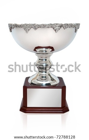 Silver Cup Trophy - stock photo
