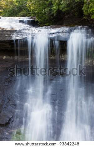 Silver Falls in North Carolina - stock photo