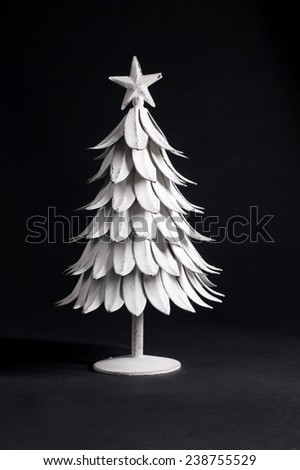 silver fir - stock photo