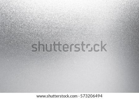 silver foil background texture white shiny stock photo