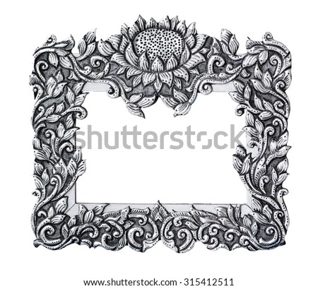 silver frame, photo, image. beautiful vintage background