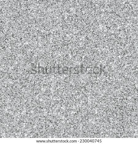 Silver glitter texture. Metallic background - stock photo