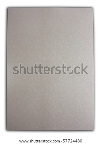 Silver grey paper flowers decorated - stock photo