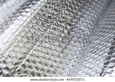 Silver insulation, sound insulation and heat
