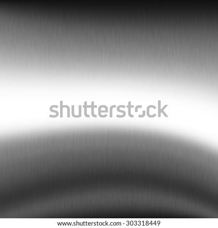 silver metal texture chrome background - stock photo