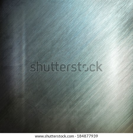 Silver metal texture. Industrial background - stock photo