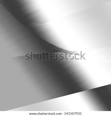 silver metal texture modern abstract background - stock photo