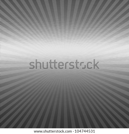 silver metal texture with delicate stripes pattern - stock photo