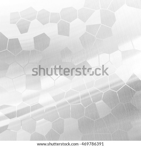 silver metal with honeycomb design background