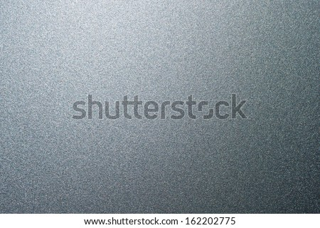 Silver metallic car paint - stock photo