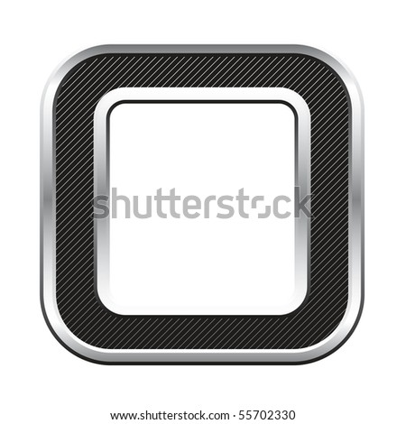 silver metallic letter with stripes isolated