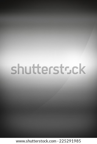 Silver polished metal background texture wallpaper - stock photo