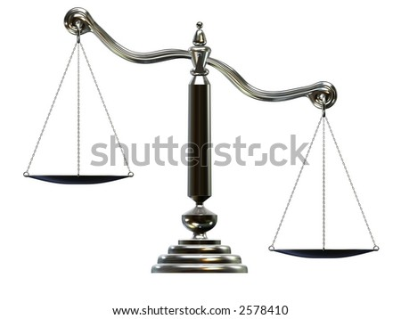 silver scale - stock photo