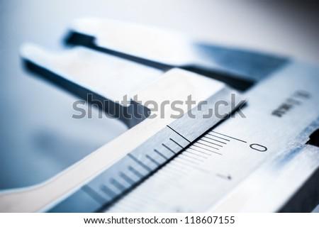 Silver trammel on blur backgruond - stock photo