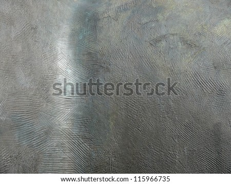 Silvery, old metal texture close up. - stock photo