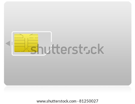 sim card with holder