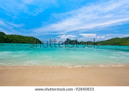 Similan Island Thailand - stock photo