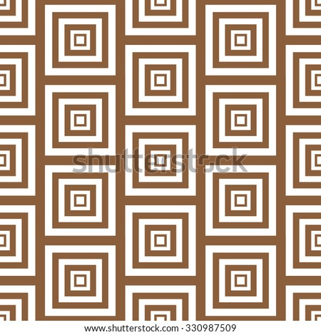 Simple Abstract Seamless Pattern Illustration  - stock photo