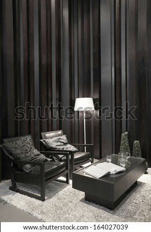 stylish office. simple and stylish office environment