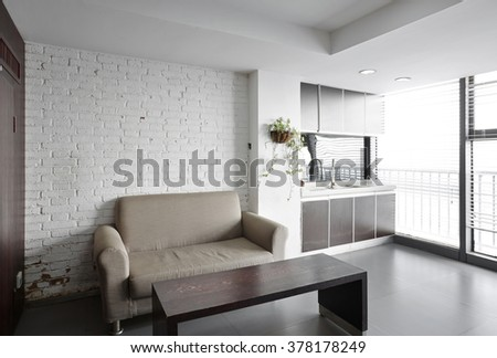Simple and stylish office environment,Pantry