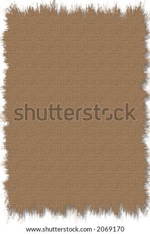 Simple digital texture of old burlap rug - stock photo