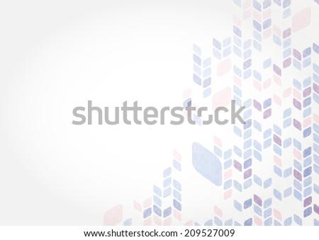 Simple Geometric Pattern. - stock photo
