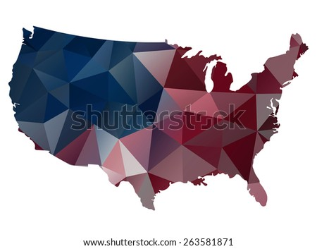 Freess United States All Maps Set On Shutterstock - Us map graphic