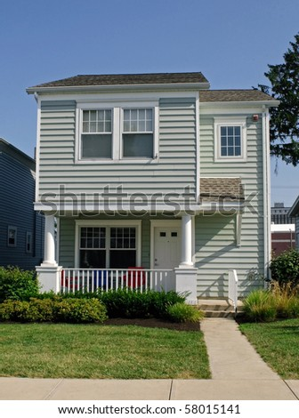 Simple Little House - stock photo