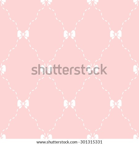Simple pink pattern. Seamless  background - stock photo