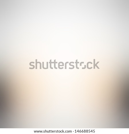Simple white gray gradient abstract background  - stock photo