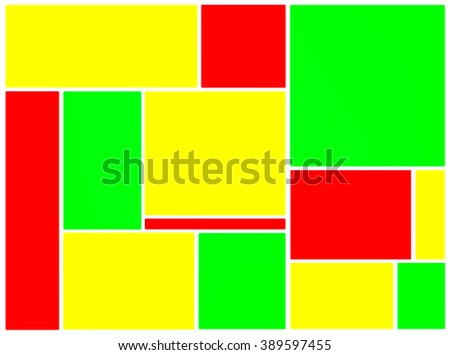 Simply abstract colorful geometric background illustration