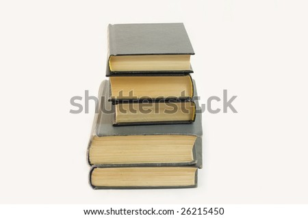 simply books - stock photo