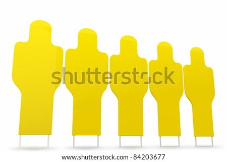 simulate player for soccer training/wall on white background. - stock photo