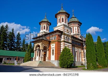 Sinaia Monastery - stock photo