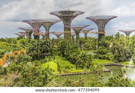 Garden By The Bay August 2017 marina bay singapore jan 20 2017 stock photo 585840101 - shutterstock