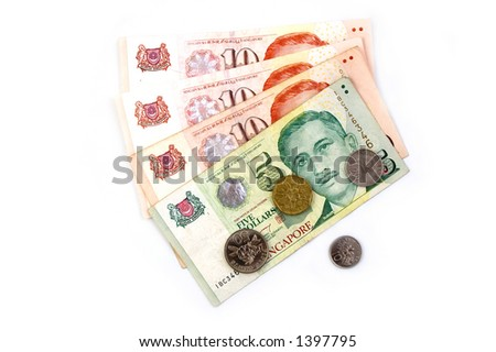 Singapore Dollars and Coins
