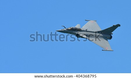 SINGAPORE - FEBRUARY 16:  at Singapore Airshow February 16, 2016 in Singapore - stock photo