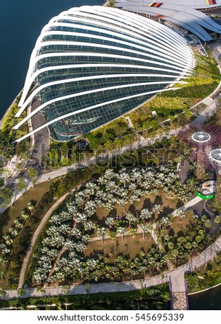 SINGAPORE - July, 2016: Marina Sand Bay, Singapore. An integrated resort fronting Marina Bay in Singapore.