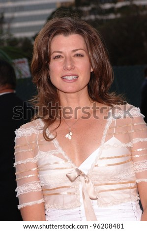 """Singer AMY GRANT, star of TV series """"Three Wishes"""" at party in Los Angeles to launch the new season on NBC TV. July 25, 2005 Los Angeles, CA  2005 Paul Smith / Featureflash - stock photo"""