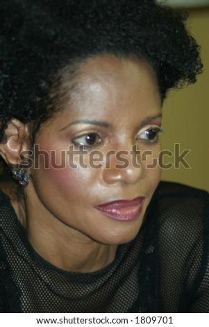 Singer Melba Moore - stock photo